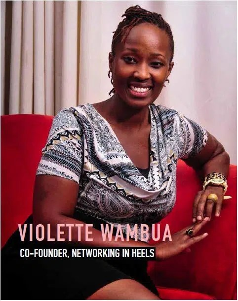 Violette Wambua of Networking In Heels