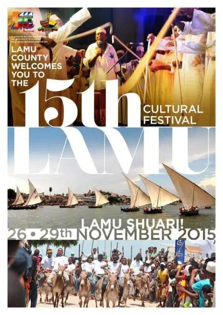 The Nairobi Cultural Festival. Image from https://nairobinow.wordpress.com/2015/10/07/out-of-town-15th-lamu-cultural-festival-nov-26-29-2015-lamu-county/