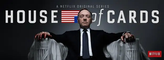 Netflix's House of cards. Image from http://www.comingsoon.net/tv/news/387651-netflix-announces-house-of-cards-season-3-premiere-date#/slide/1