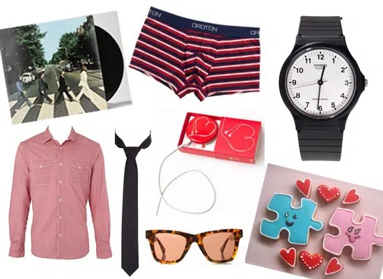 Valentines gifts for men. Image from http://www.popsugar.com.au/fashion/Online-Valentine-Gift-Guide-Men-What-Buy-Your-Guy-including-general-pants-saba-13895289#opening-slide