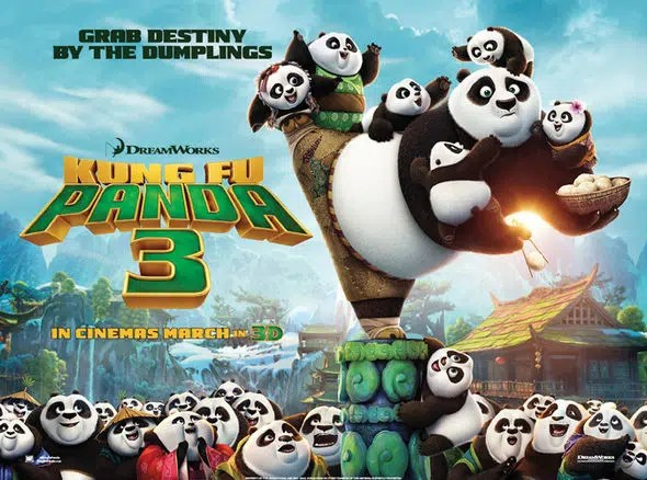 Kung Fu Panda movie. Image from http://www.express.co.uk/entertainment/films/627197/Ice-Age-Collision-Course-trailer-star-wars