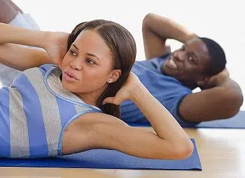 Couple getting fit © Copyright 2010 CorbisCorporation. Image from http://www.kamdora.com/lifestyle/health-fitness/