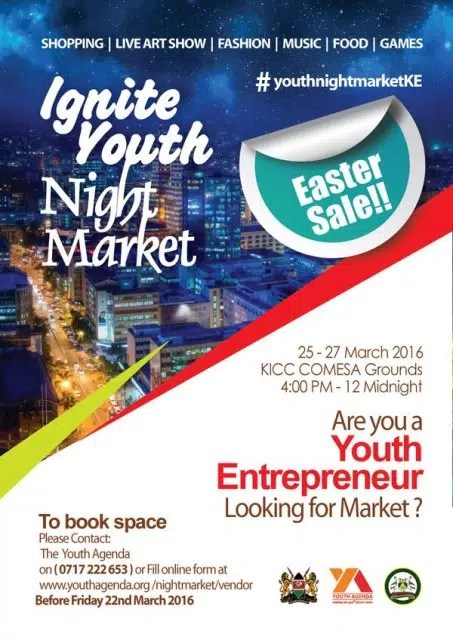 The Ignite Youth Night Market