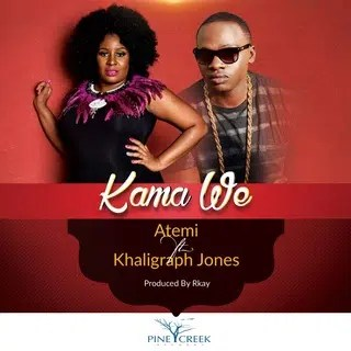 "Atemi Oyungu and Khaligraph Jones have released a new song 'Kama we"". Image from http://mdundo.com/"