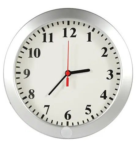 Nanny camera hidden in a clock. Image from http://www.hidden-nanny-cam.com/products/wall-clock-nanny-cam-with-built-in-dvr#.VwuaOdA1Z1s
