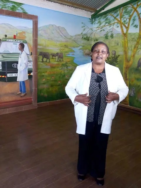 Faith Kobia, a Nursing Officer at the Lewa Clinic 2