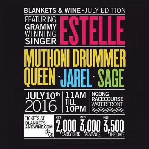 estelle blankets and wine