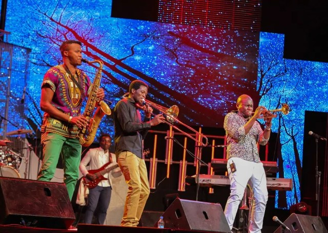 Nairobi Horns Project. Image courtesy of Safaricom.