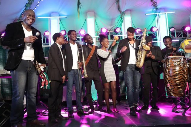 Nairobi Horns Project together