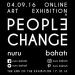 Nuru Bahati Launches 33 Day Online Art Exhibition Titled 'People Change'