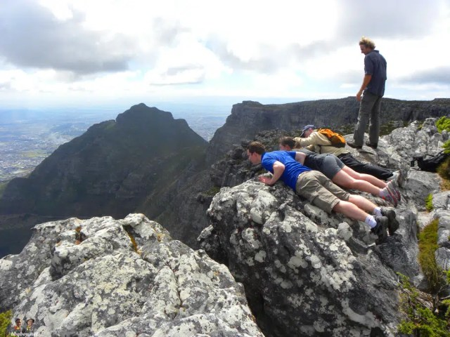 Hiking Up Table Mountain - Cape Town - Outdoors