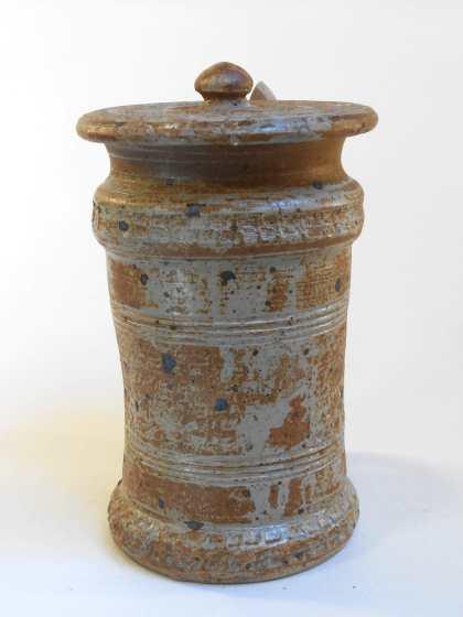 Pot à cornichon marron