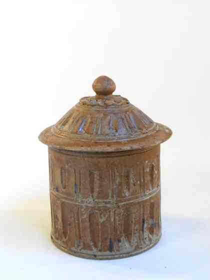 Pot à épices petit marron