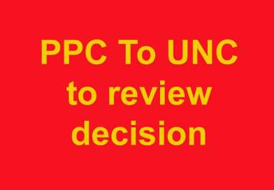 PPC urges UNC to review its decision on non-acceptance of government activities