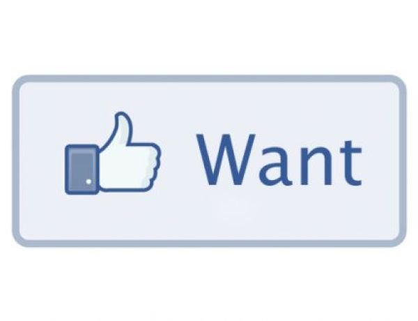 Un bouton « want » pour Facebook