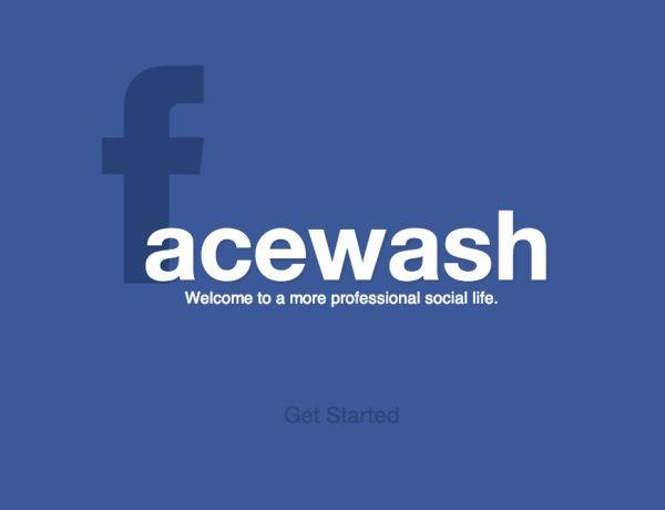 FaceWash : L'application qui sauve votre avenir !