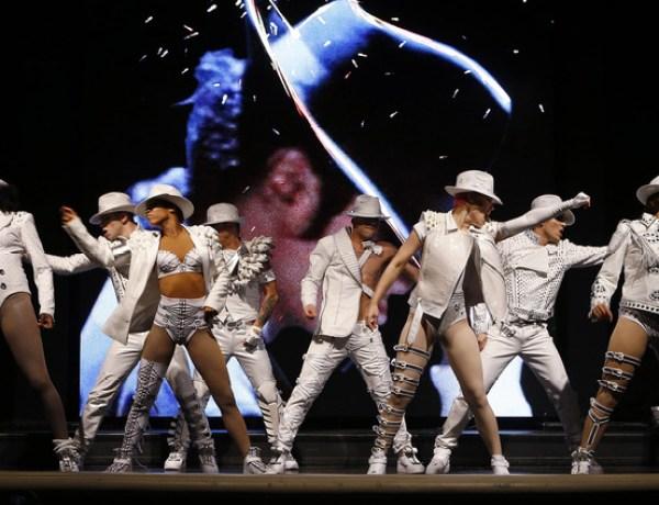 Michael Jackson au cirque du soleil !