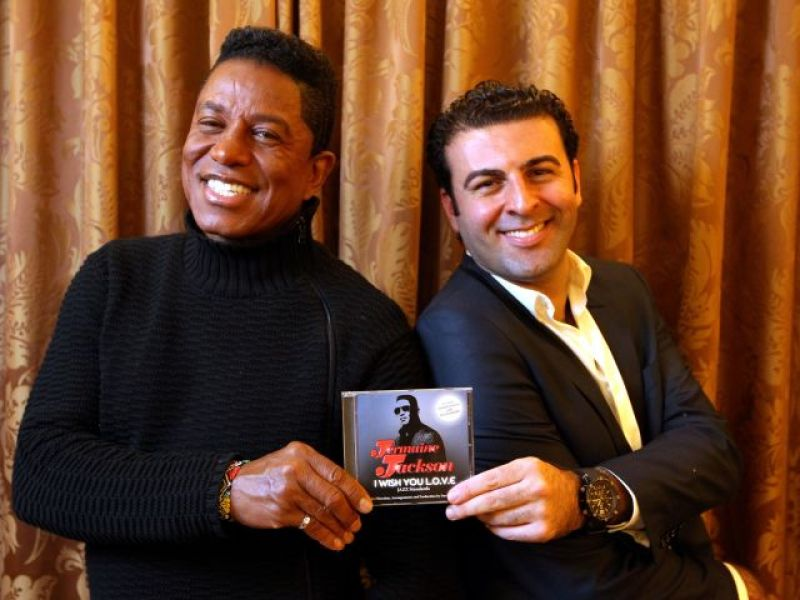 David Serero dans la tourmente avec Jermaine Jackson