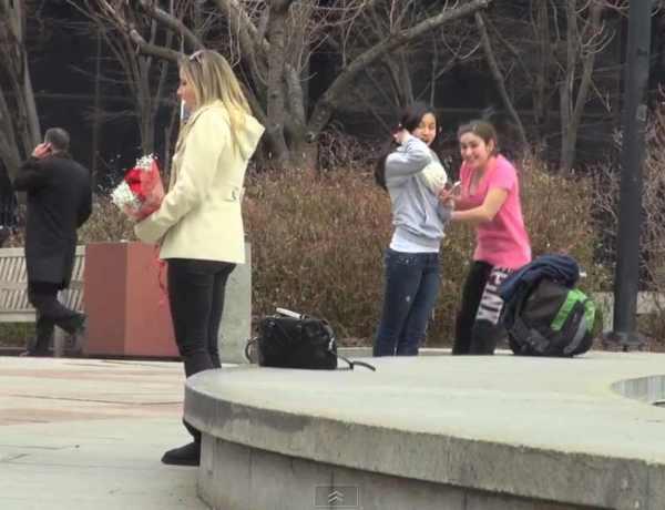 La Vidéo du Jour #17/02/13 : Prank VS Prank la demande en mariage