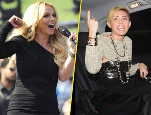 Miley Cyrus et Britney Spears en duo ??
