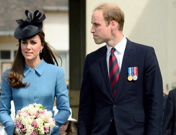 Le Prince William en rogne
