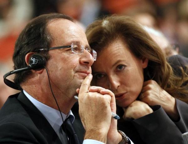 Valérie #Trierweiler votera pour François Hollande en 2017