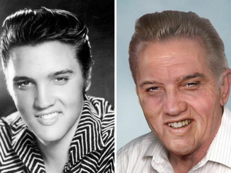 Voici à quoi ressembleraient Elvis Presley ou encore John Lennon aujourd'hui !