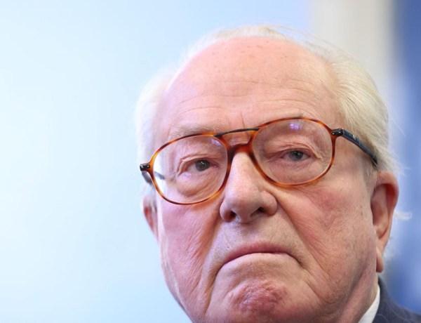 Jean-Marie Le Pen a été hospitalisé pour un  « petit problème cardiaque »