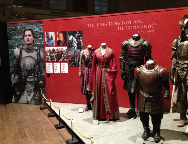 Une exposition Game Of Thrones à Paris !