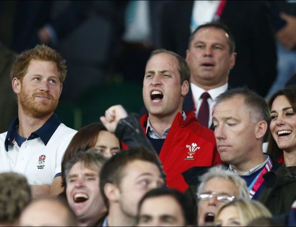 Rugby : La rivalité entre le Prince William et son frère Harry