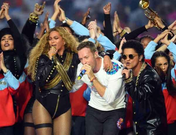 #SuperBowl : Les filles de Beyoncé et Chris Martin fans de leur prestation