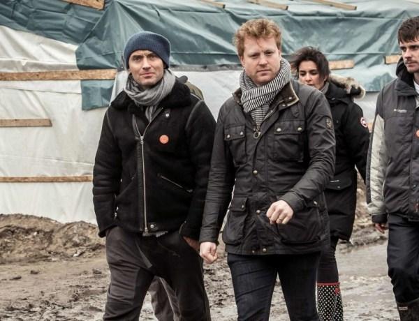 Jude Law au cœur de la jungle à Calais!