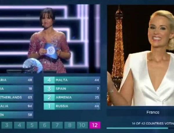 Eurovision 2016 : Quand Elodie Gossuin se ridiculise à la télévision