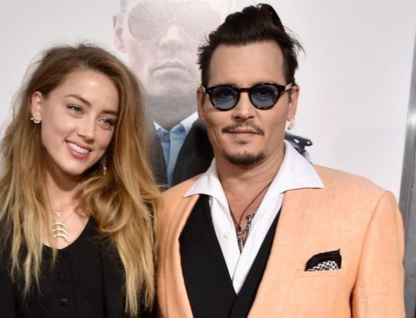 Johnny Depp : Accusé d'être infidèle par Amber Heard