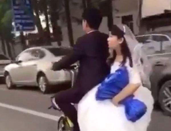 Cette jeune mariée ne finira pas sa journée comme il se doit