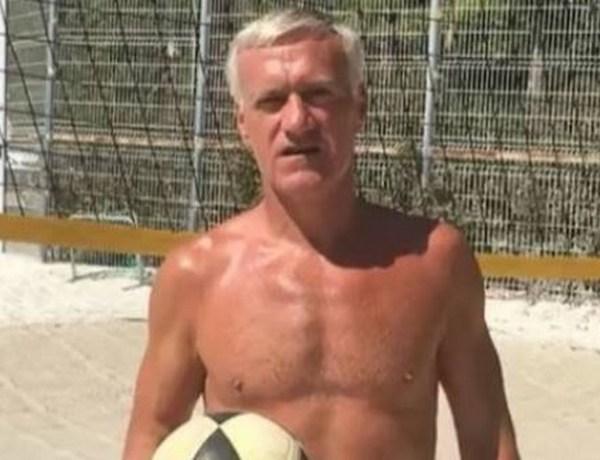 Didier Deschamps: En boxer moulant sur la plage, il s'apprête à relever un challenge sportif inédit