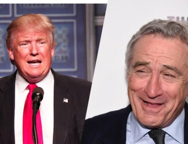 Robert de Niro : Donald Trump ridicule et cinglé ?