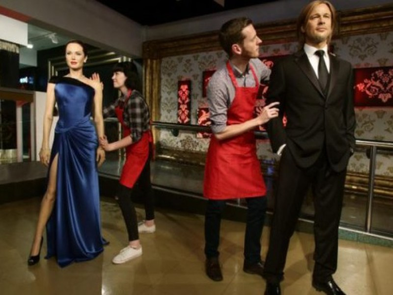 Divorce d'Angelina Jolie et de Brad Pitt: Madame Tussauds sépare leurs statues