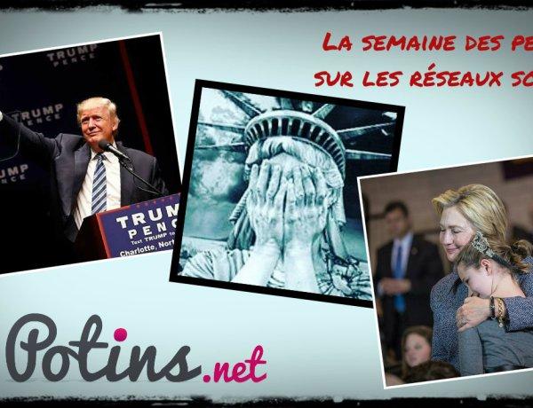 La semaine des people : Donald Trump président, les stars sous le choc