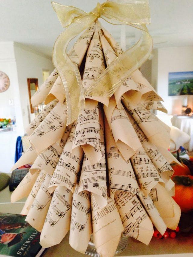 10 sapins de Noël originaux à faire soi-même !