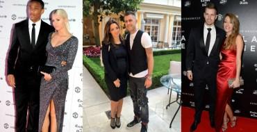 Les stars de télé-réalité en couple avec des footballeurs
