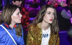 Charlotte Casiraghi et Jared Leto complices à la Fashion Week