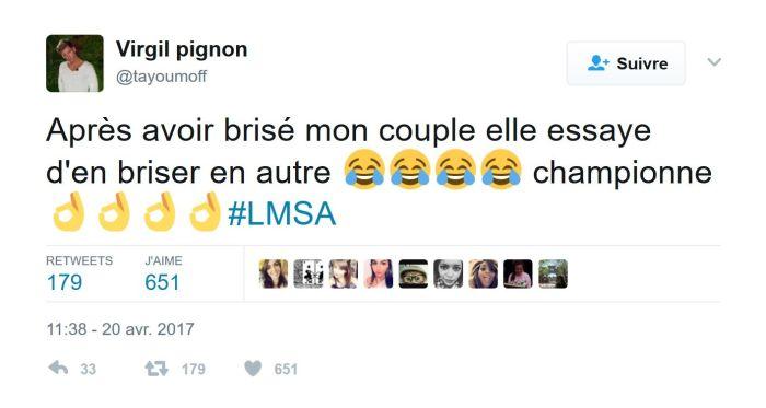 #LMSA : Virgil tacle son ex Hillary sur Twitter !
