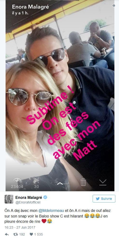 Matthieu Delormeau et Enora Malagré lynchés par les fans de TPMP !