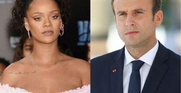 Rihanna ultra sexy, Emmanuel Macron en érection, l'image qui fait mal !
