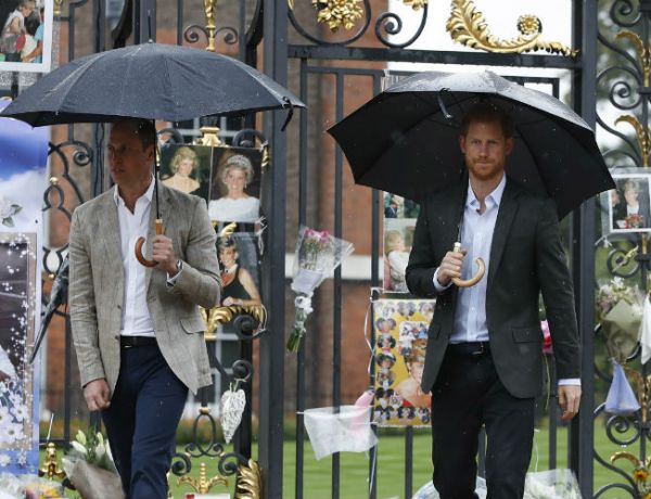 Mort de Lady Diana : Les princes Harry et William lui rendent hommage