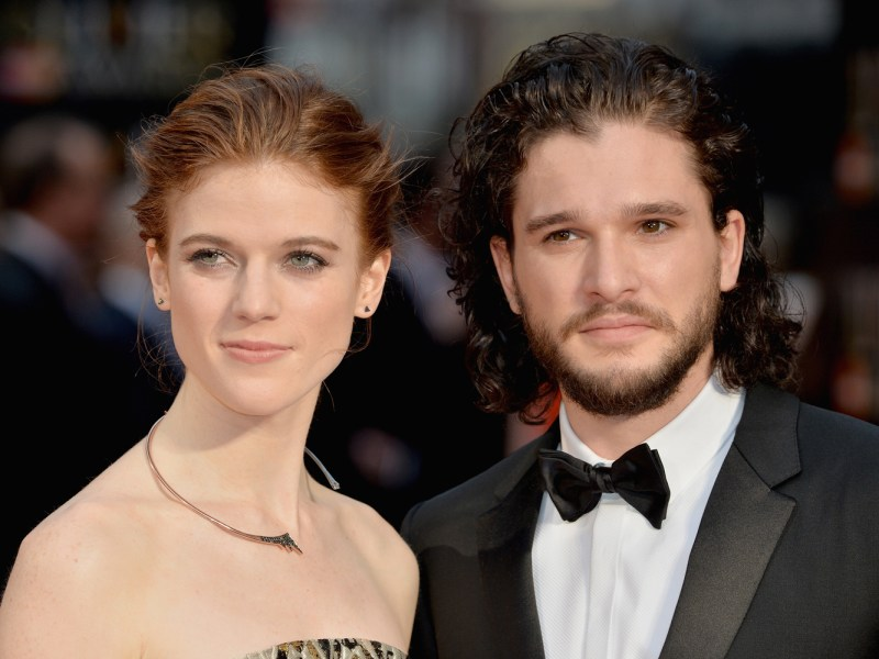 Game of Thrones : Kit Harington et Rose Leslie se seraient fiancés !