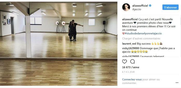 Alizée et Grégoire Lyonnet ont concrétisé leur rêve