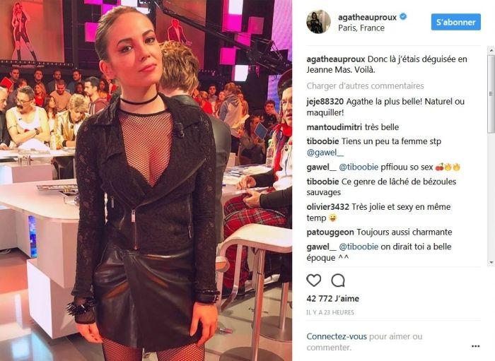 Agathe Auproux : En décolleté et sans lunette sur Instagram, elle fait tourner les têtes !