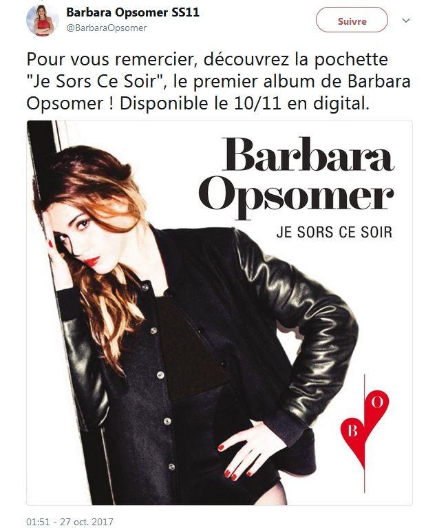 Secret Story : Barbara Opsomer s'apprête à sortir son album !
